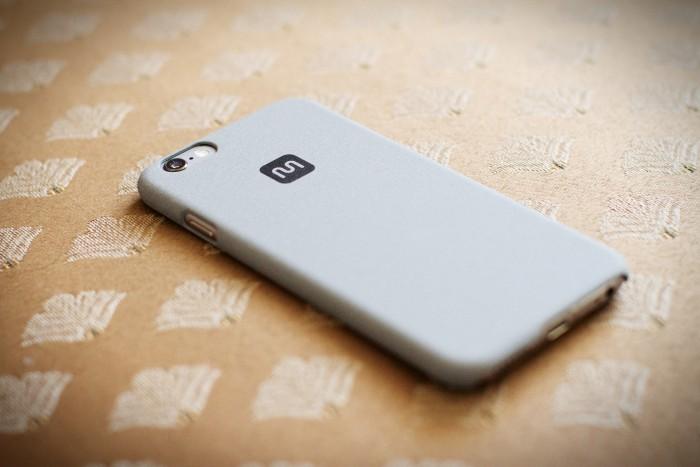 monoprice solid grey phone case